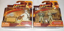 German Soldiers & Indiana Jones With Ark -- Raiders Of The Lost Ark -- Hasbro