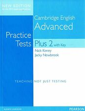 CAMBRIDGE ENGLISH ADVANCED CAE Practice Tests Plus 2 w Key w 2015 Exam Spec @NEW
