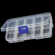 10 Slot Compartment Jewelry Tool Box Case Beads Organizer Nail Container Storage