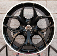 "20"" BMW X5 X6 Staggered Avus AC-MB2 Black Wheels Rims Made In Italy"