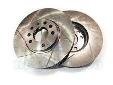 GROOVED Performance REAR Brake Discs BMW 3 Series Convertible E30 318 i 1990-93