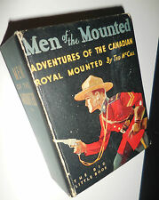 1934 Men of the Mounted Big Little Book #755 Fine