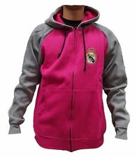 Official Rhinox Real Madrid FC Pink Hoodie With Zipper