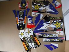FLU TEAM OTSF ROCKSTAR GRAPHICS YAMAHA YZ125 YZ250 1996 1997 1998 1999 2000 2001