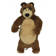 Masha and the Bear - 25cm Plush Standing Bear Soft Toy  *BRAND NEW*
