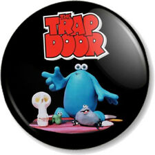TRAP DOOR (1) 25mm Pin Button Badge Old School Skool Cartoon Retro Kids TV 1980s