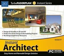 Instant Architect Home Design CAD Software  Win XP Vista 7 8  Brand New Sealed