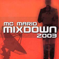 Audio CD Mixdown 2003 - Mc Mario - Free Shipping