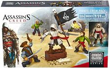 MEGA Bloks ASSASSIN CREED Pirata's Crew Pack REFERENCE 94305 - 111 PEZZI