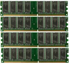 4GB (4x1GB) PC3200 DDR400 184pin DIMM Memory For AMD 939 A8N K8N Chipset
