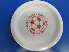 "Italy Azzurri Blues FIFA World Cup Soccer Sports Party 9"" Paper Dinner Plates"