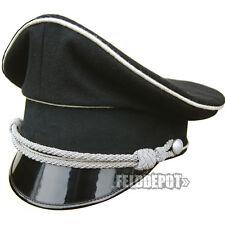 WX Elite Schirmmütze XX Offizier Allgemeine 58cm WGT Gothic schwarz Cap Black