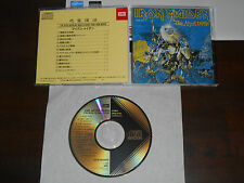 IRON MAIDEN Live After Death CD Japan 12 tracks EMI CP32-5110