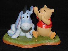 WDCC Disney POOH & EEYORE FIGURINE Psst! You're a Grand Friend Pass It On!