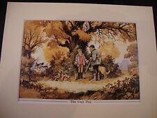 Norman Thelwell's Humourous Mounted Shooting Print - The Gun Dog