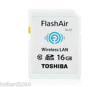 Toshiba FlashAir wireless Lan 16GB Class10 WiFi SD Card SDHC CARD