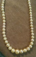 Antique LATAUSCA 14k gold and Pearls Necklace Famous maker Rare