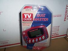 NEW EXCALIBUR TV GUIDE QUIZ MASTER HANDHELD ELECTRONIC GAME 2004 MASTER SEIRES