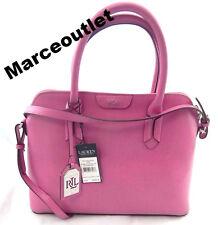 Lauren Ralph Lauren Tate Dome Satchel Pink   $228.00