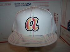 ATLANTA BRAVES FITTED HAT/CAP  MLB  SIZE 7 1/2 -MULTIPLEX WHITE-AMERICAN NEEDLE