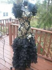 VINTAGE WILD CHILD 80s PROM PARTY DRESS TOTAL GLAMOURGIRL M-L