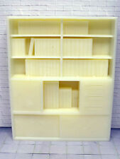 MODELL Regal mit Bücher/Ordner in 1:24/1:25, für Diorama - Slotbahn -LGB
