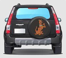Spare Wheel Cover 4x4 Graphic Sticker SCOOBY DO RETRO 500MM contour cut graphic