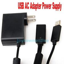USB AC Adapter Power Supply Cable Cord for Microsoft Xbox 360 Kinect Sensor New