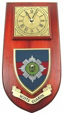 SCOTS GUARDS CLASSIC STYLE HAND MADE TO ORDER  WALL CLOCK
