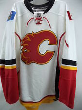 Calgary Flames Reebok NHL Authentic Pro Edge Fight Strap Jersey Size 52