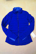 Lululemon Fluffed Up Jacket Pigment Blue 8 10 12