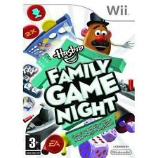 Hasbro Family Game Night Nintendo Wii PAL COMPLETE