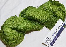 Gorgeous Greens LETTUCE 210yd Skein Malabrigo RIOS Soft SPRWASH MERINO Wool YARN