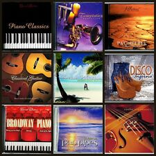 9 Assorted MUSIC CD'S, Relaxation,Easy Listening,Guitar,Piano,Violin, Xmas Gifts