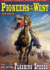Silent Cowboy Double Feature: Pioneers of the West/Flashing Steeds New DVD