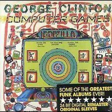 """George Clinton """"Computer Games"""" Remastered CD Brand New"""
