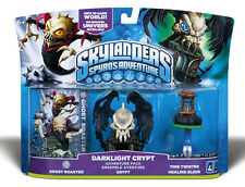 Skylanders Spyros Adventure Darklight Crypt Adventure Pack Wii PS3 XBOX 360 3DS