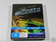 Fast and Furious Blu-ray Steelbook OOS/OOP RARE IMPORT MINT REGION FREE