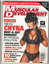 MUSCULAR DEVELOPMENT bodybuilding muscle magazine/WWE Diva wrestling CHYNA 5-00