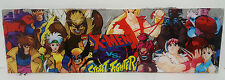 "Vintage X-Men vs Street Fighter Arcade Marquee - Capcom (25"" 1/2 x 7"" 5/8) Plexi"