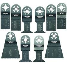 10 x Blades for Fein Multimaster Bosch Parkside Workzone Multitool Multi Tool