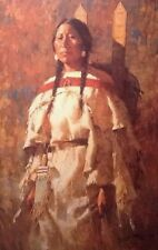Howard Terpning Cheyenne Mother LE Canvas Print New Mint Condition with COA