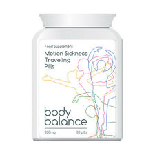 BODY BALANCE MOTION SICKNESS TRAVELING PILLS STOP SICKNESS NAUSEA VOMITING