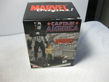 "Marvel Origins Captain America  8"" inch limited Statue MIB FS Steve Rodgers"