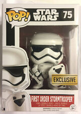 Funko Pop EP7 Star Wars EP7 1st Order Stormtrooper w/Shield Riot Gear Walgreens