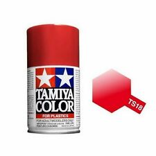 Tamiya TS-18 Metallic Red Spray Paint Can 3.35 oz 100ml Mid-America Naperville