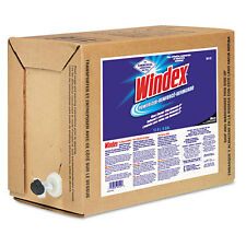 Windex Powerized Formula Glass/Surface Cleaner 5gal Bag-in-Box Dispenser 90122