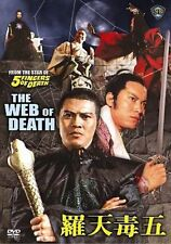 WEB OF DEATH - NEW DVD-FREE UPGRADE TO 1ST CLASS SHIPPING--