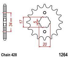 KR Ritzel 17 Z Teilung 428 DERBI Senda 125 R / SM ... front sprocket