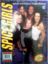 SPICE GIRLS GRAPHIC BOOK MAGAZINE BRAZIL LOTS OF PICTURES COLLECTORS ITEM!